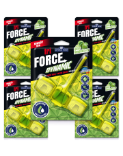 General Fresh - TRI-FORCE DYNAMIC - Limonka - Zawieszka do wc x5