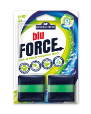 General Fresh - BLU-FORCE - Leśny - Kostka do spłuczki x 2